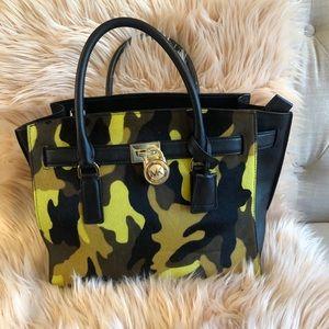 Michael Kors calf hair leather purse